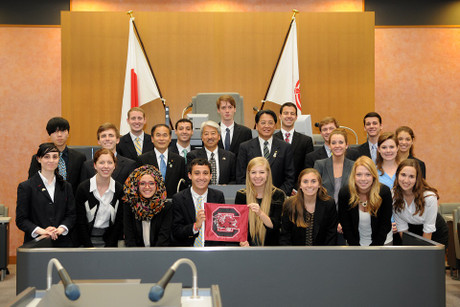 The students at University of South Carolina (May 21, 2014)