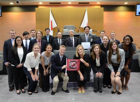 The students at University of South Carolina (May 19, 2015)