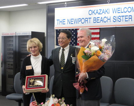 The Newport Beach Sister City Delegation (April 7, 2014)