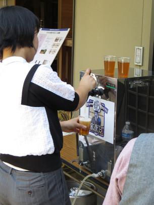 むらさき麦100%ビールお披露目会