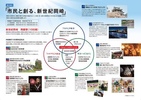 新世紀岡崎 飛躍祭 パンフレット