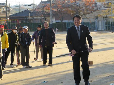 男川学区・第12回グランドゴルフ選手権大会(2013年12月1日)