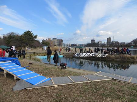 第41回 岡崎水泳協会寒中水泳(2016年1月11日)