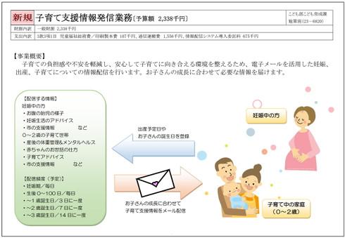 子育て支援情報発信業務(平成28年度当初予算)