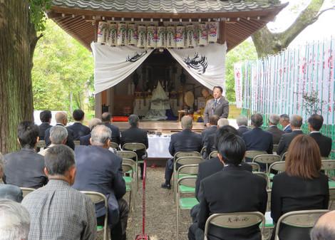 大岡稲荷社祭礼(2016年4月24日)