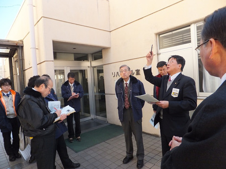 岡崎市民会館の視察