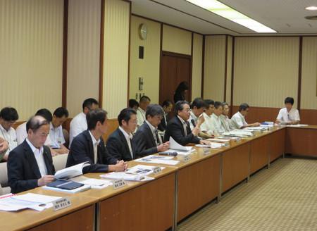 建設事業の促進に関する要望会(2016年8月8日)