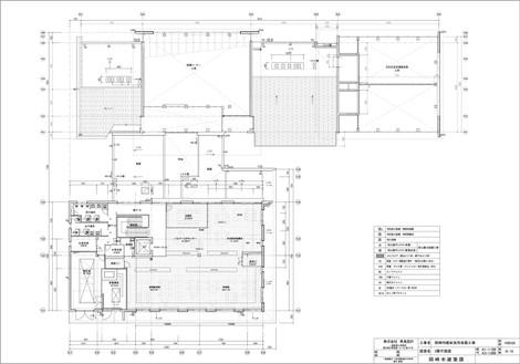 岡崎市額田支所改築工事・2階平面図