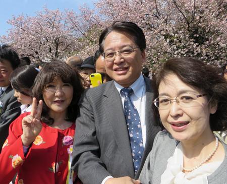 桜を見る会(2017年4月15日)