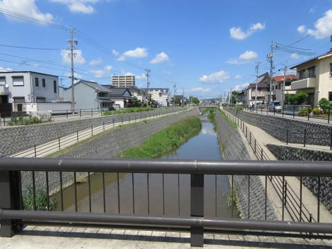 2011年10月に竣工した伊賀川の新瀧見橋