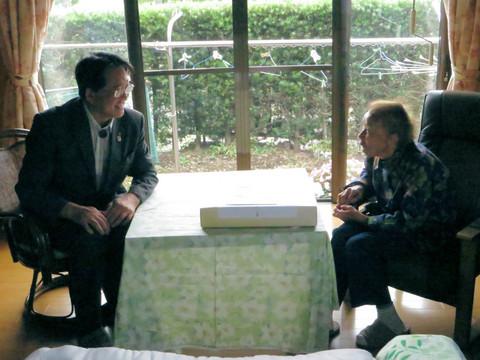 鈴木うらさん(岡崎市池金町、100歳)