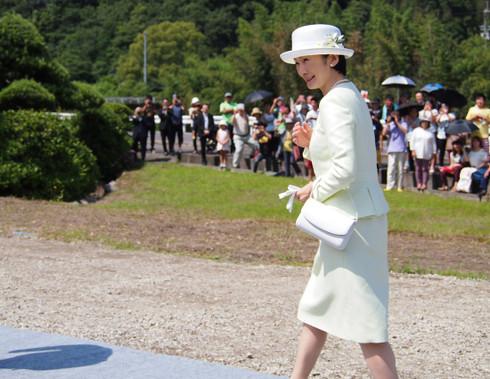 文仁親王妃紀子様(2015年6月21日)