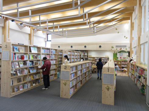 岡崎市立額田図書館