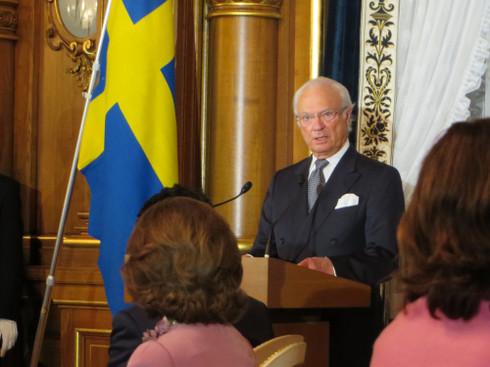スウェーデン国王・カール16世グスタフ殿下