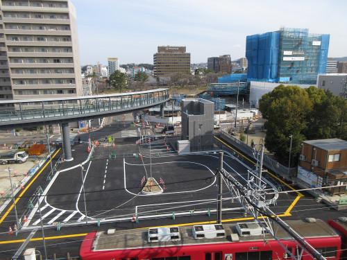 東岡崎駅、北東街区