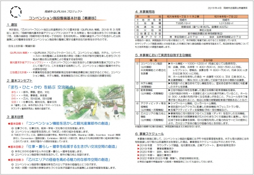 コンベンション施設整備基本計画